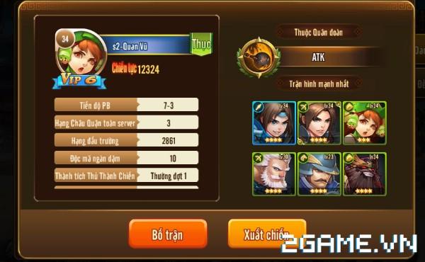 Tam Quốc GO - Hệ thống bạn bè 2