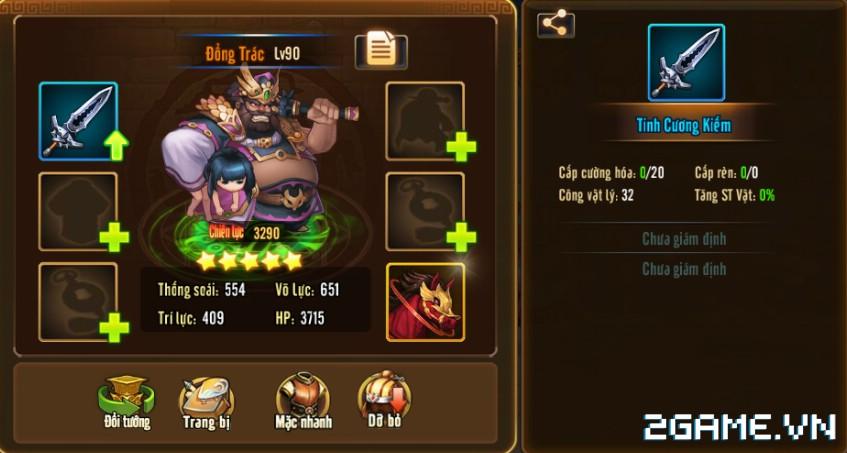 Tam Quốc GO - Hướng Dẫn Giám Định Trang Bị 0