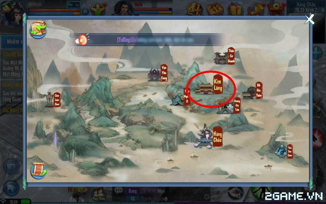 Thiện Nữ Mobile - Hướng Dẫn Hoạt Động Rồng Thiên 3