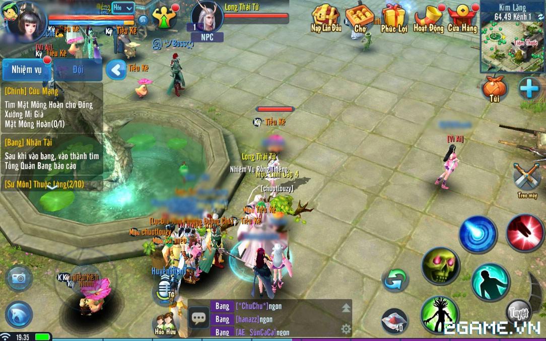 Thiện Nữ Mobile - Hướng Dẫn Hoạt Động Rồng Thiên 4