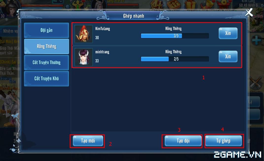 Thiện Nữ Mobile - Hướng Dẫn Hoạt Động Rồng Thiên 6