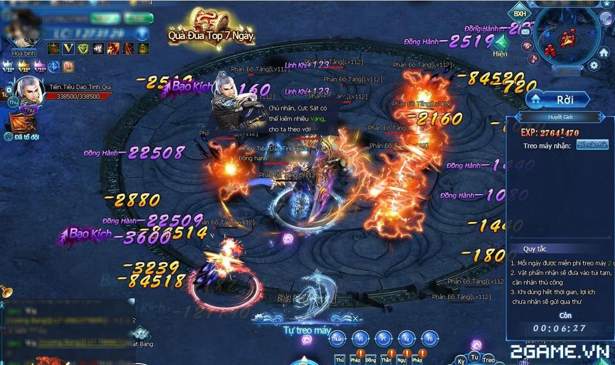 Chơi webgame Huyết Kiếm người chơi nên thăng cấp Bạn đồng hành để gia cường sức mạnh 1