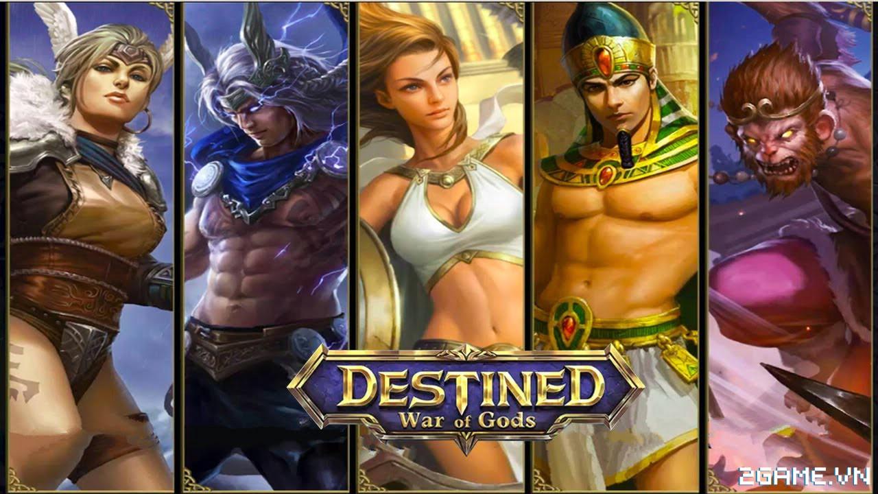War of Gods : DESTINED – cuộc chiến của những vị thần trên di động 0