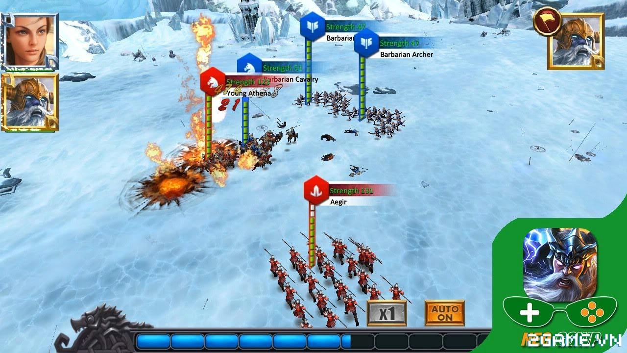 War of Gods : DESTINED – cuộc chiến của những vị thần trên di động 1