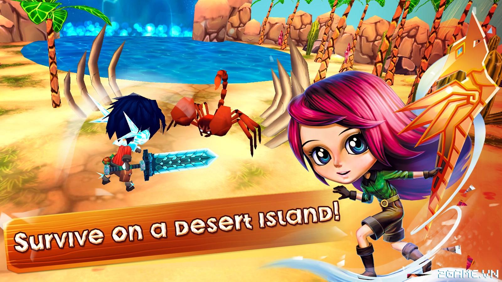 Chibi Survivor Weather Lord – Game sinh tồn đồ họa ngộ nghĩnh, gameplay phong cách Don't Starve 0