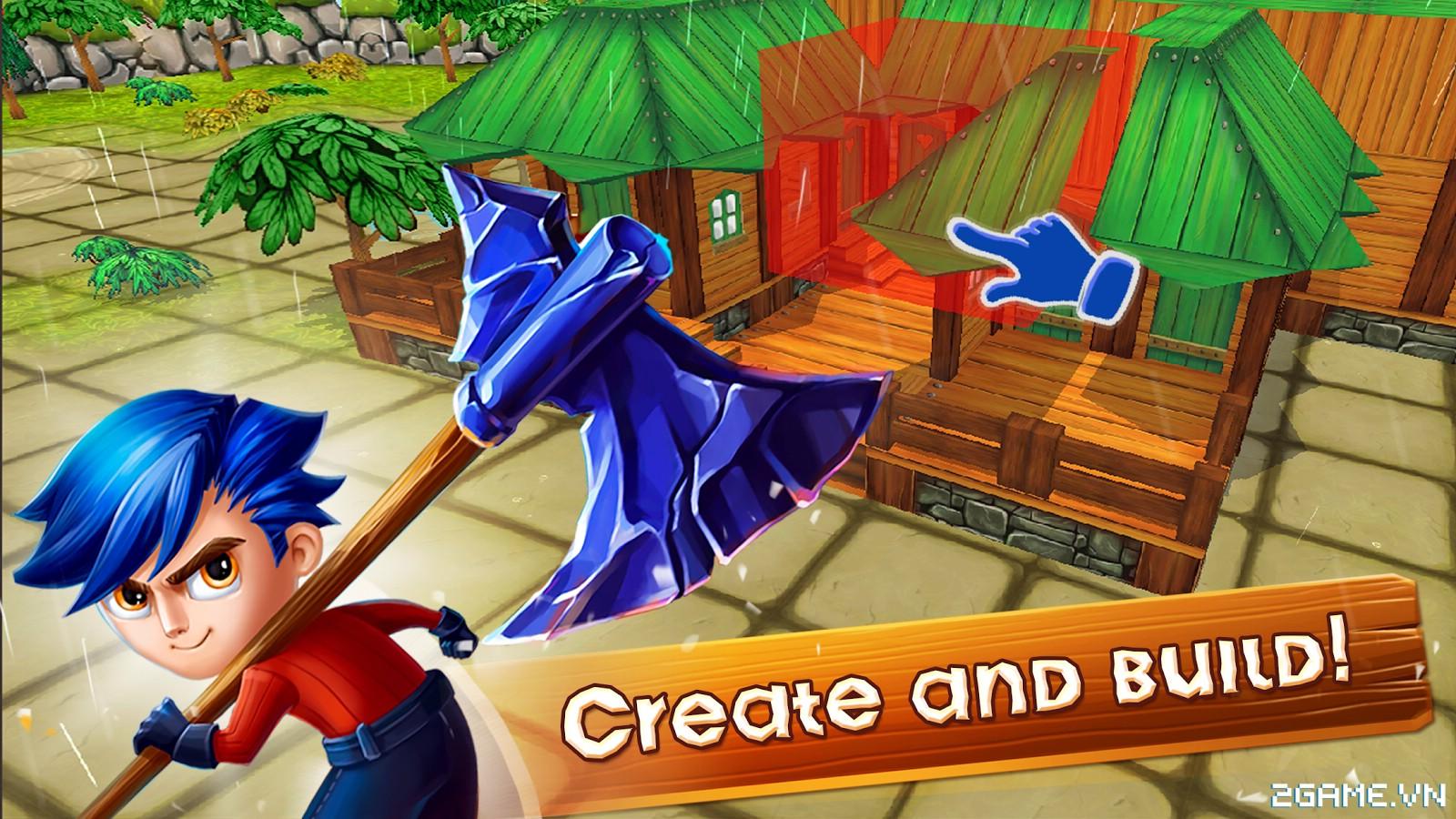 Chibi Survivor Weather Lord – Game sinh tồn đồ họa ngộ nghĩnh, gameplay phong cách Don't Starve 1