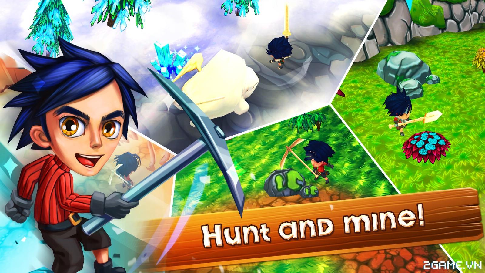 Chibi Survivor Weather Lord – Game sinh tồn đồ họa ngộ nghĩnh, gameplay phong cách Don't Starve 2
