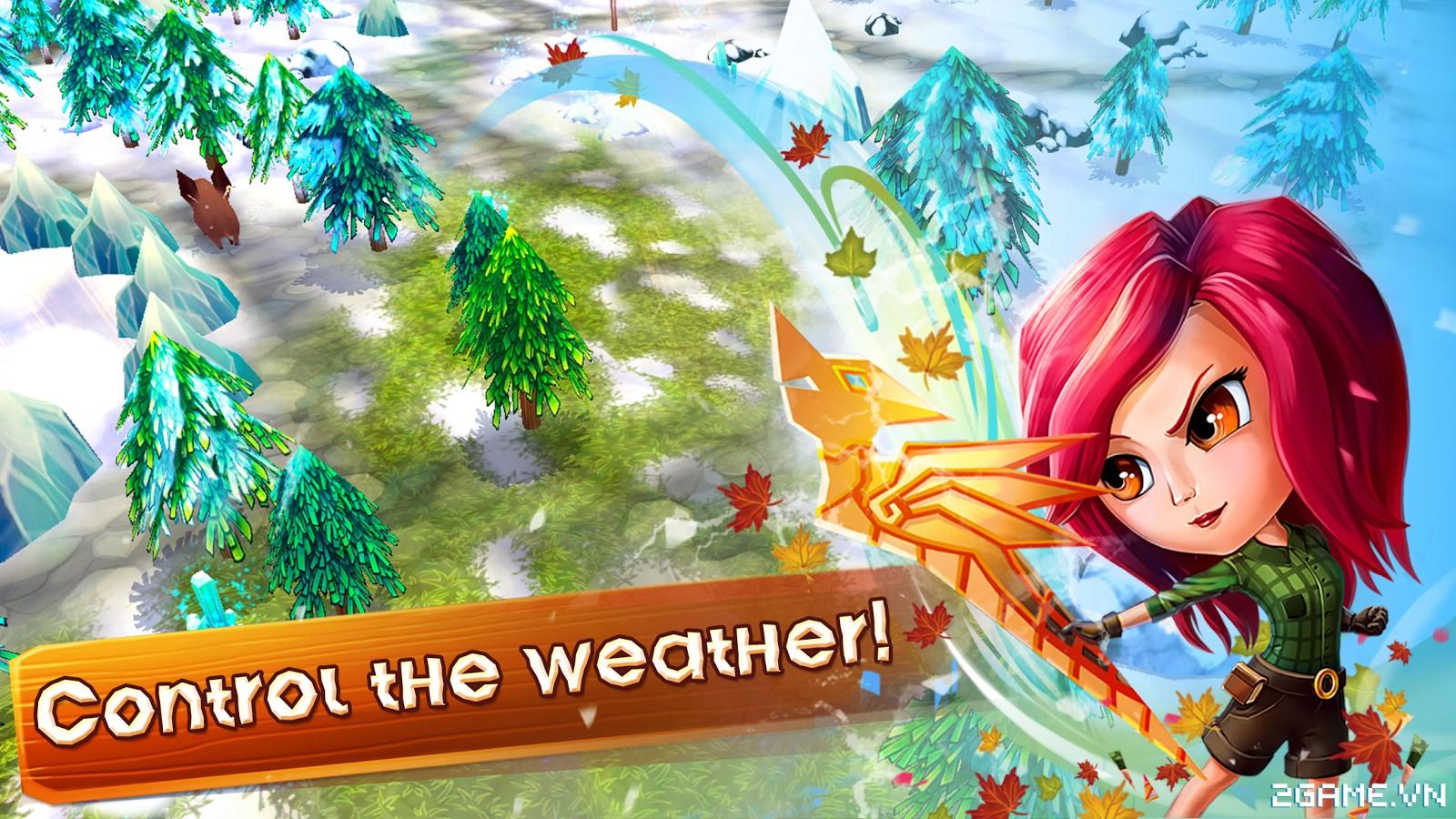 Chibi Survivor Weather Lord – Game sinh tồn đồ họa ngộ nghĩnh, gameplay phong cách Don't Starve 3