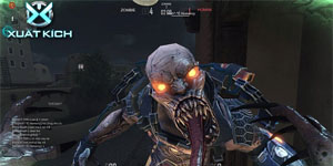 Game thủ hoảng sợ vì zombie trong Xuất Kích quá hung hãn