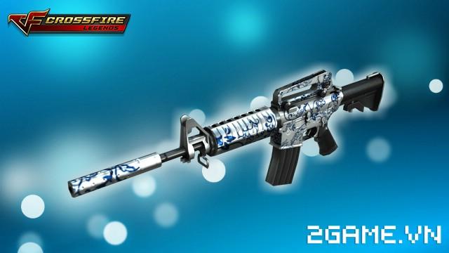 Crossfire Legends - Giá ngon mỗi ngày (22.07): M4A1-Blue Pottery ưu đãi gói 7 ngày chỉ 60 gem 1