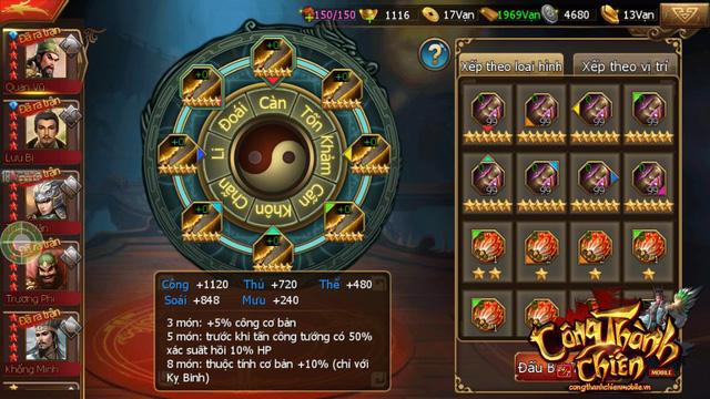 Công Thành Chiến Mobile đã sẵn sàng ra mắt game thủ Việt 1