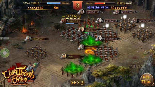 Công Thành Chiến Mobile đã sẵn sàng ra mắt game thủ Việt 2