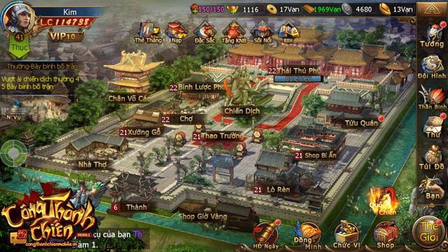 Công Thành Chiến Mobile đã sẵn sàng ra mắt game thủ Việt 0