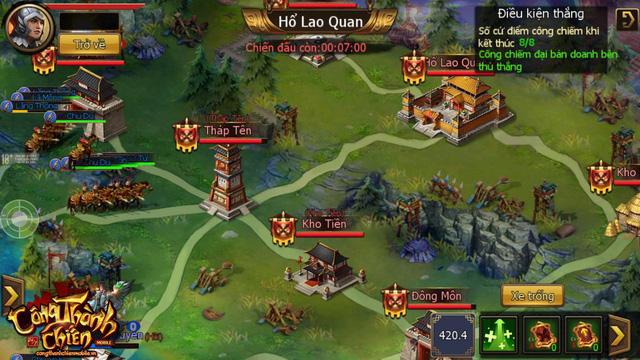 Công Thành Chiến Mobile đã sẵn sàng ra mắt game thủ Việt 5