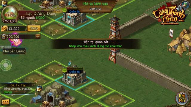Công Thành Chiến Mobile đã sẵn sàng ra mắt game thủ Việt 6