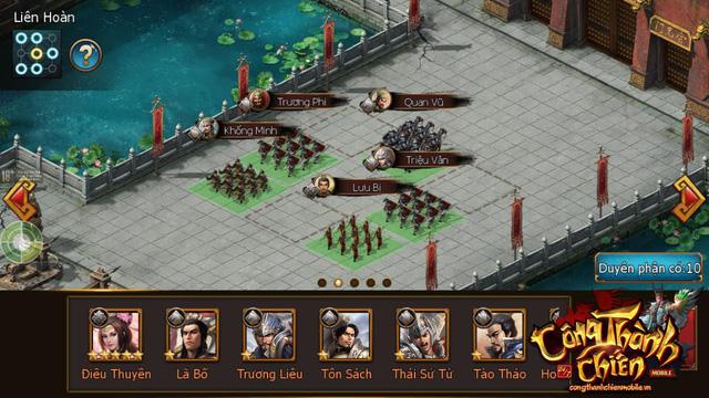 Công Thành Chiến Mobile đã sẵn sàng ra mắt game thủ Việt 7