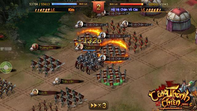 Công Thành Chiến Mobile đã sẵn sàng ra mắt game thủ Việt 8