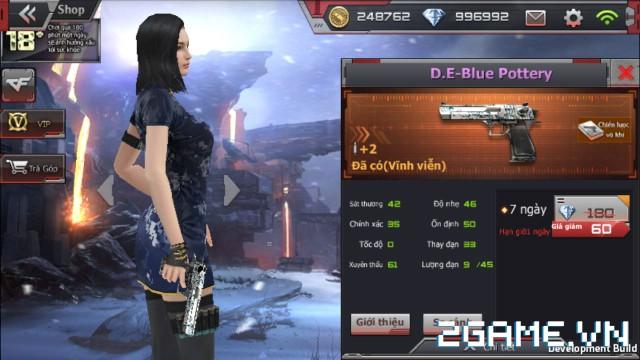 Crossfire Legends - Giá ngon mỗi ngày (23.07): Mua D.E-Blue Pottery chỉ 60 gem, dùng đến 1 tuần 0