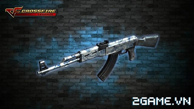 Crossfire Legends - Giá ngon mỗi ngày (24.07): AK47-Blue Pottery chỉ còn 60 gem cho gói 7 ngày 0