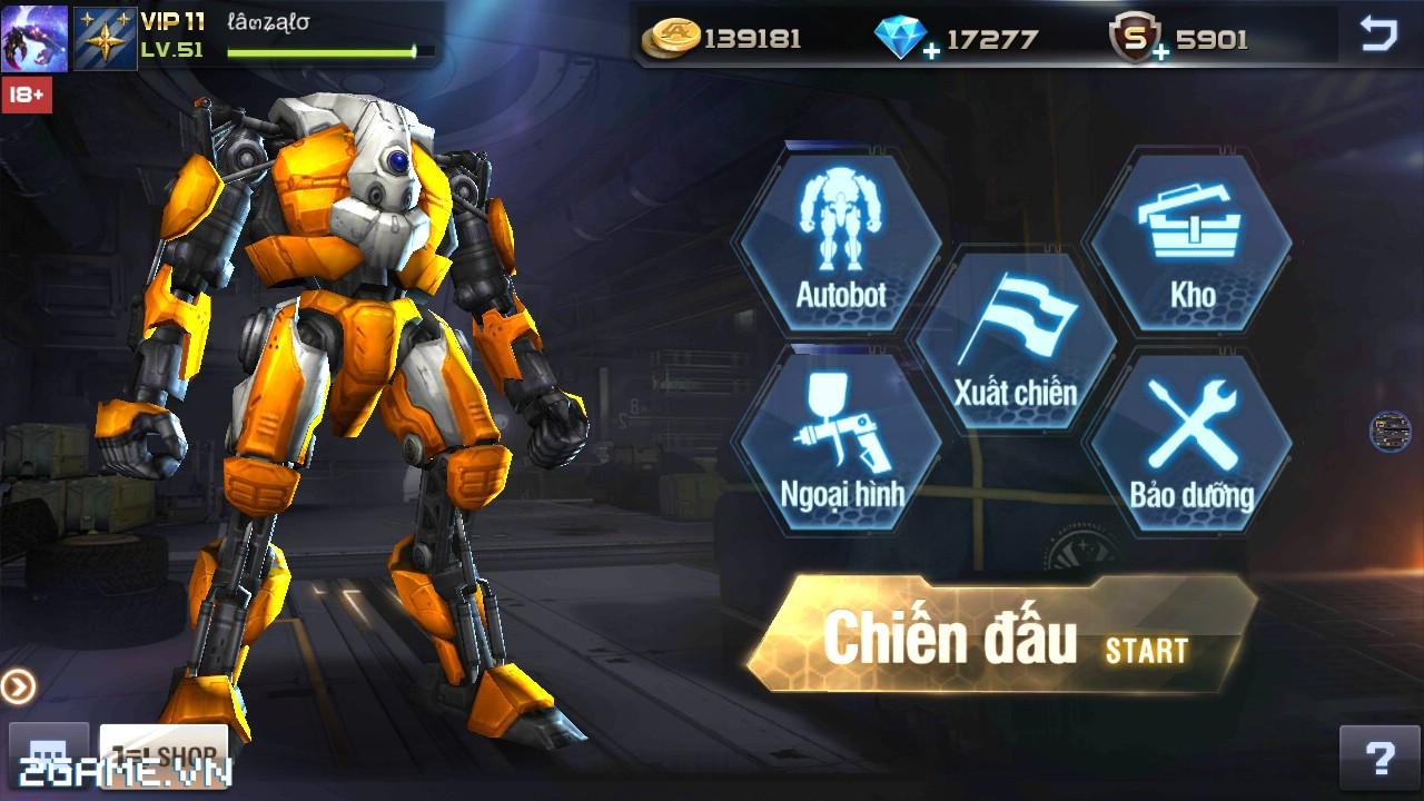 Việt Nam bất ngờ xuất hiện game mobile bắn Robot trực tuyến đầu tiên 1