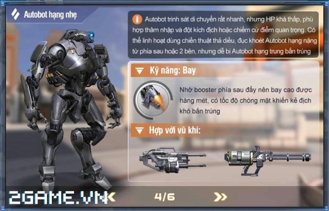 Việt Nam bất ngờ xuất hiện game mobile bắn Robot trực tuyến đầu tiên 6