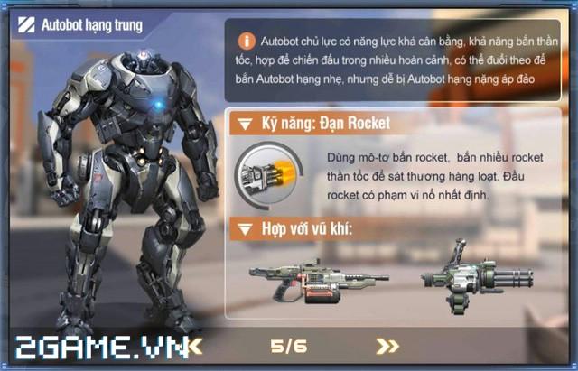 Việt Nam bất ngờ xuất hiện game mobile bắn Robot trực tuyến đầu tiên 7