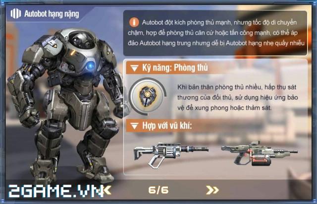 Việt Nam bất ngờ xuất hiện game mobile bắn Robot trực tuyến đầu tiên 8