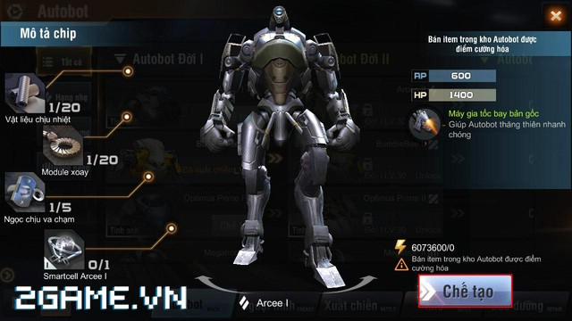 Việt Nam bất ngờ xuất hiện game mobile bắn Robot trực tuyến đầu tiên 4