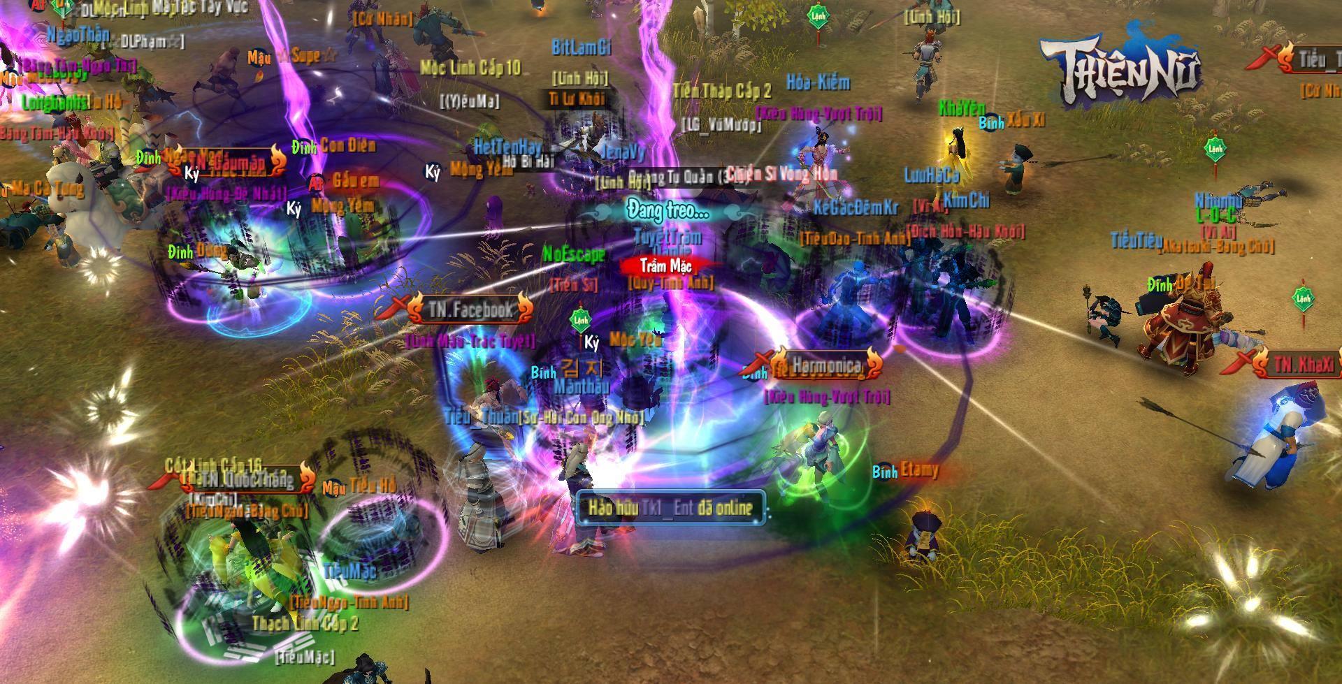 3 máy chủ là không đủ với Thiện Nữ Mobile, game thủ yêu cầu VNG sớm ra máy chủ mới 4