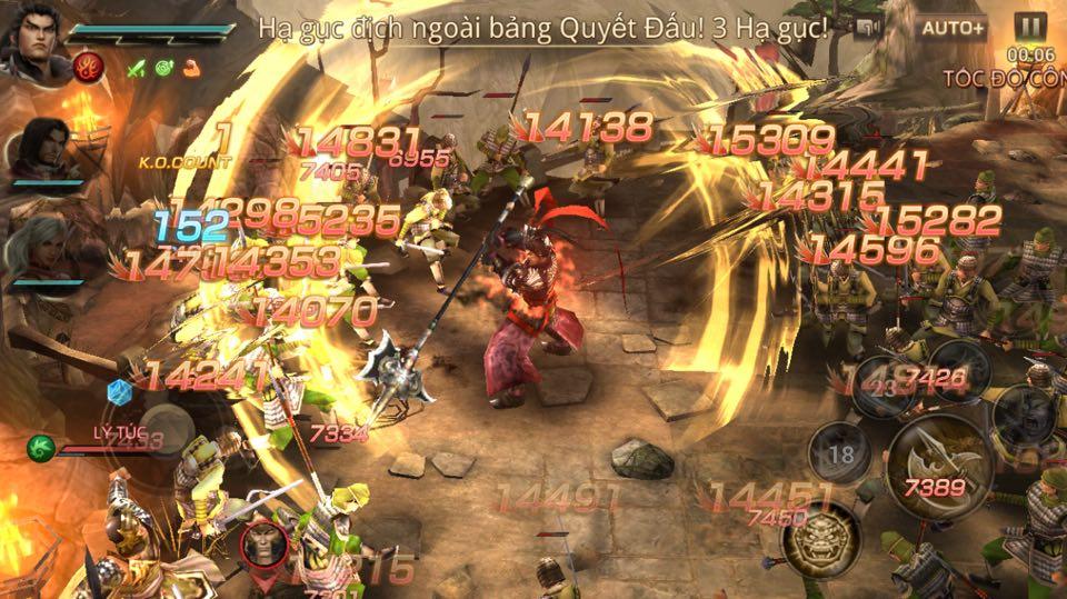 Dynasty Warriors: Unleashed chiều lòng game thủ với hàng loạt những tính năng siêu hot 0