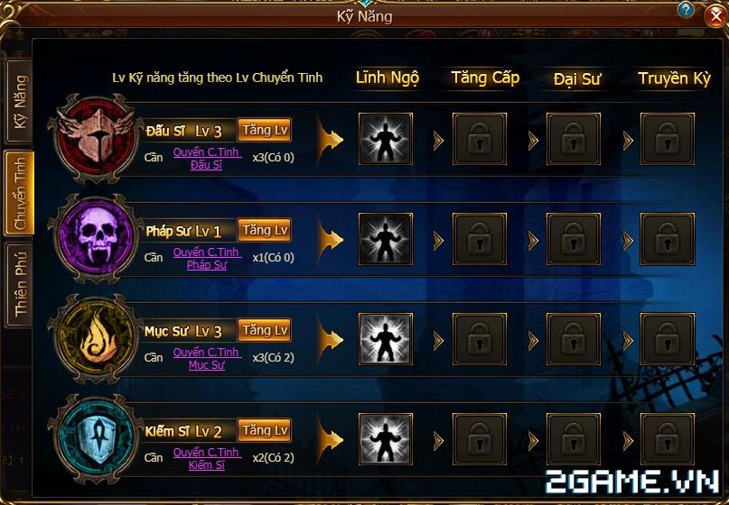 Game Of Dragons - Hệ Thống Class Nhân Vật 2