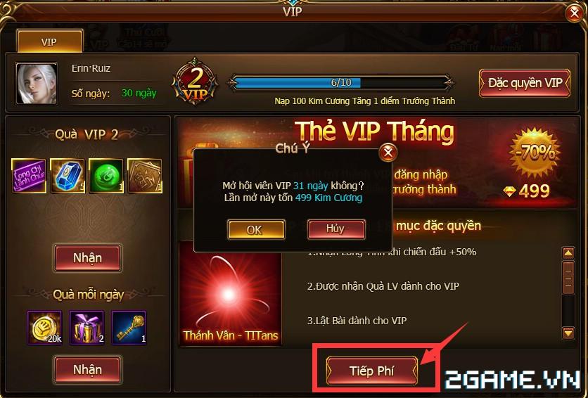 Game Of Dragons - Hệ Thống Tiền Tệ Và Cách Kích Hoạt VIP 5