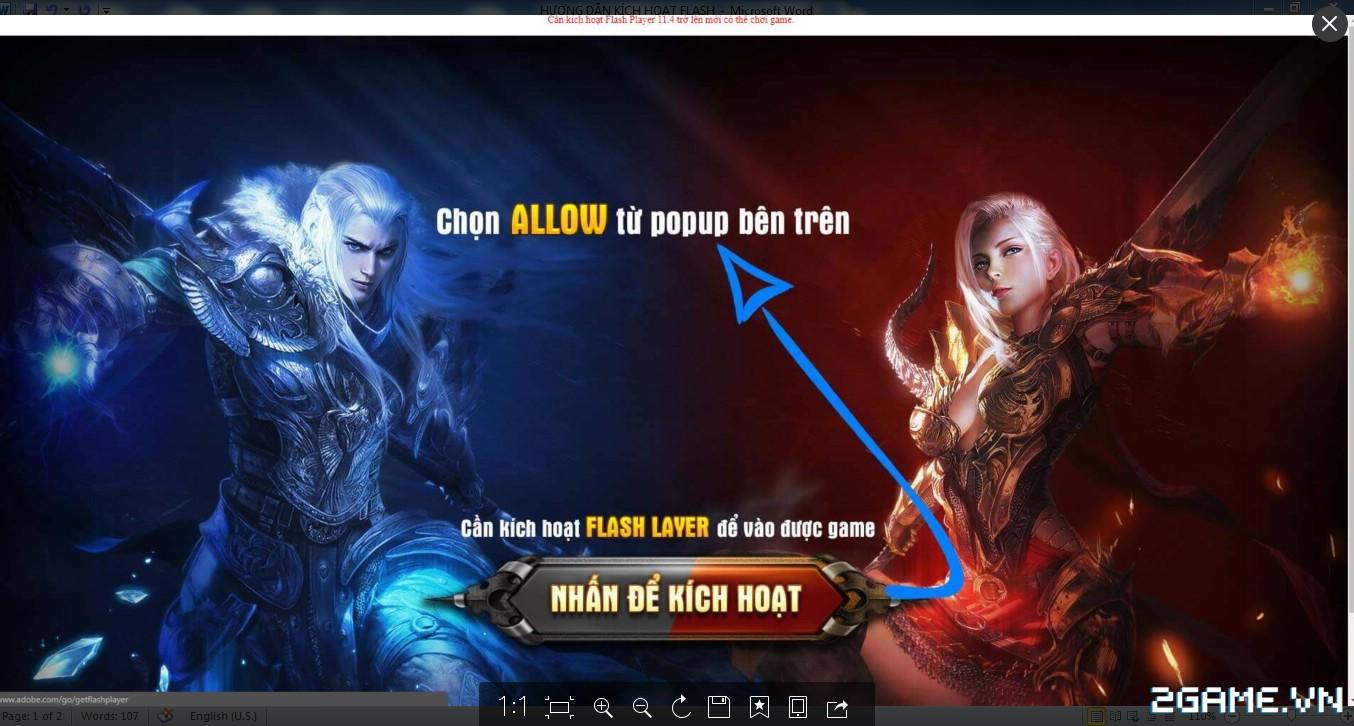 Game Of Dragons - Hướng Dẫn Kích Hoạt Flash 0
