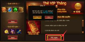 Game Of Dragons – Hệ Thống Tiền Tệ Và Cách Kích Hoạt VIP