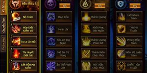 Game Of Dragons – Hệ Thống Class Nhân Vật
