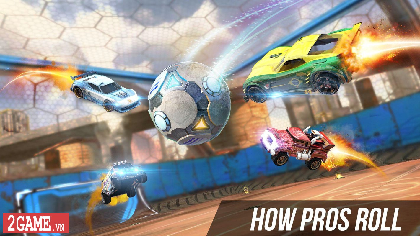 Supercharged - Game mobile cho phép người chơi Đá bóng bằng Xe đua 2