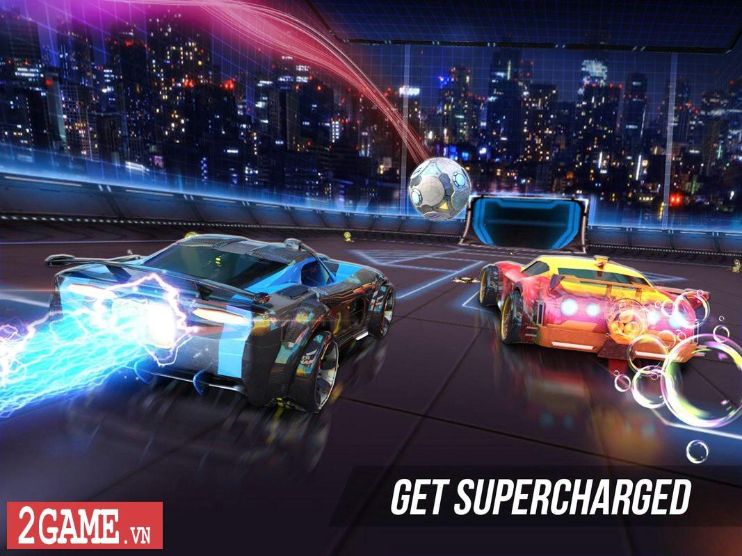 Supercharged - Game mobile cho phép người chơi Đá bóng bằng Xe đua 3