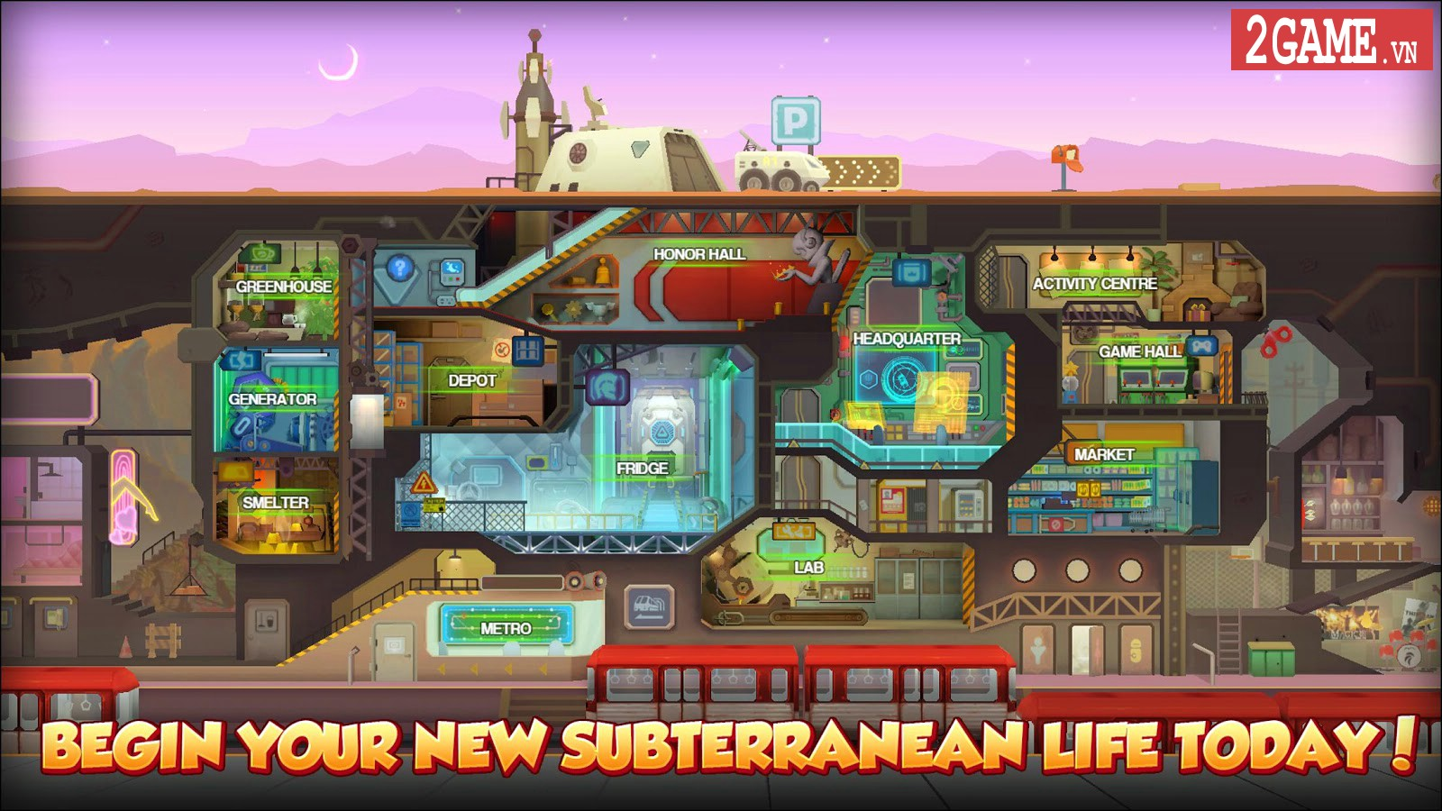 iShelter - Game nhập vai kết hợp chiến thuật với nền đồ họa siêu lạ 1