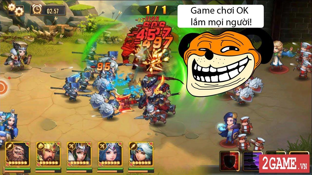 Chơi Tam Quốc GO để thấy dòng game chiến thuật đấu thẻ tướng vẫn còn ok lắm!!! 0