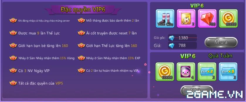 HotSteps 2 - Hệ Thống VIP 6