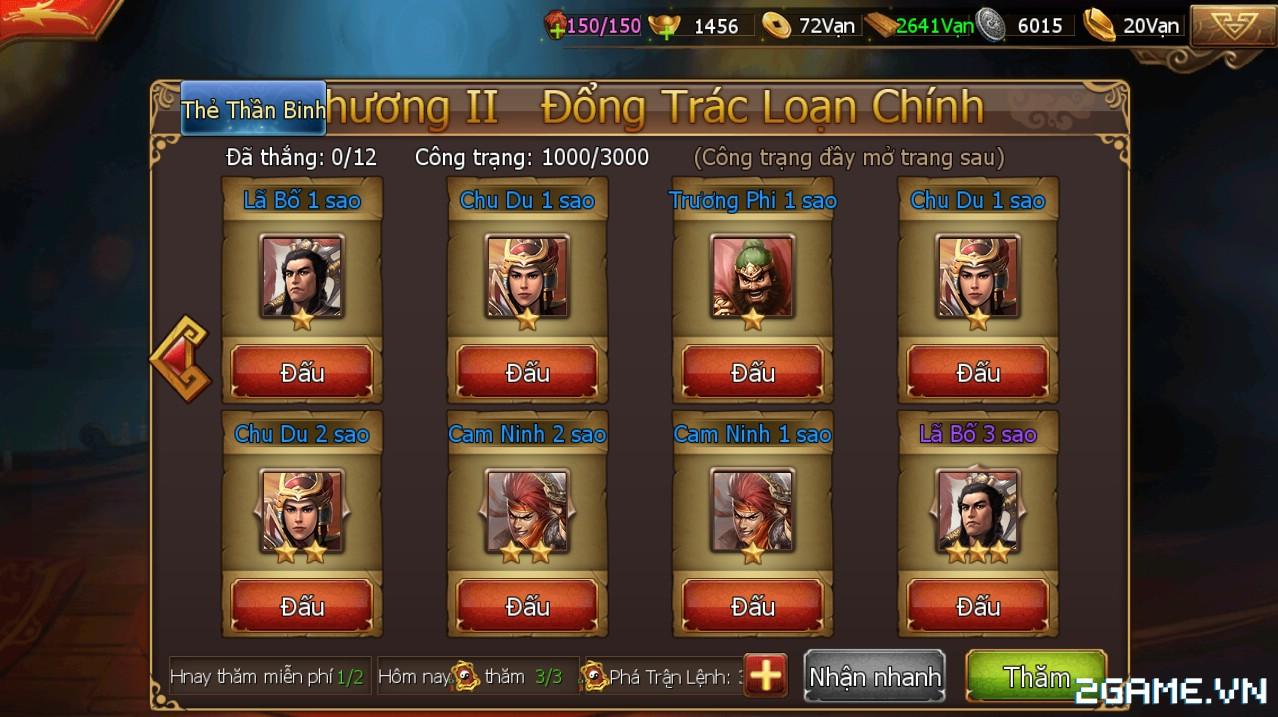 Công Thành Chiến Mobile - Trang bị Thần Binh 2