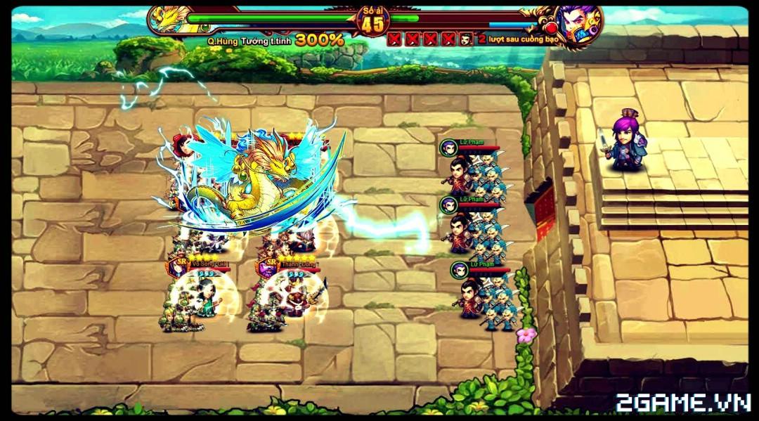 Cận cảnh game mobile Tam Quốc Quần Hùng trong ngày đầu ra mắt 3