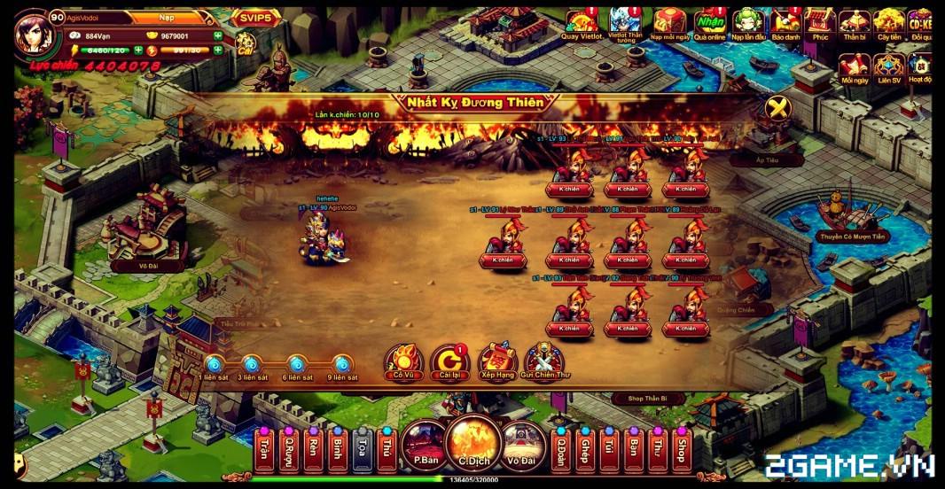 Cận cảnh game mobile Tam Quốc Quần Hùng trong ngày đầu ra mắt 10