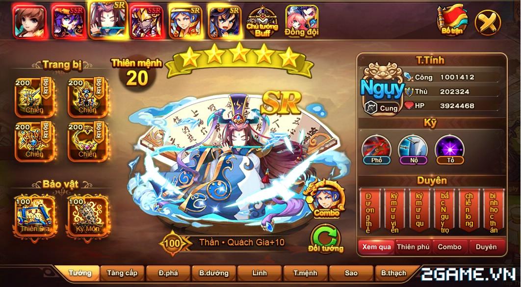 Cận cảnh game mobile Tam Quốc Quần Hùng trong ngày đầu ra mắt 1