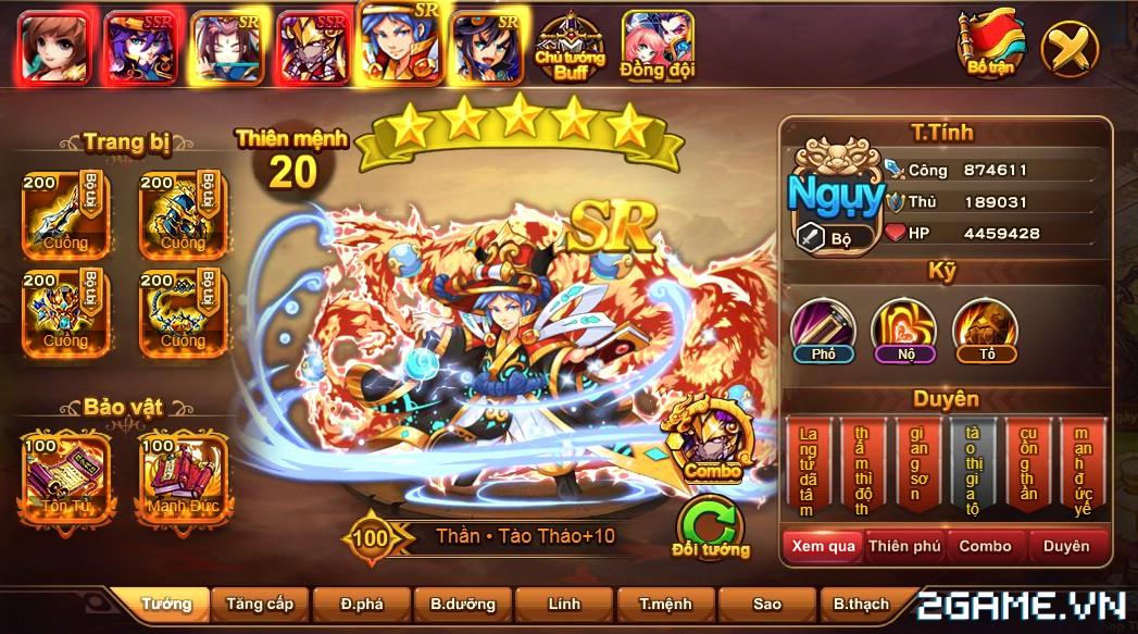 Cận cảnh game mobile Tam Quốc Quần Hùng trong ngày đầu ra mắt 4