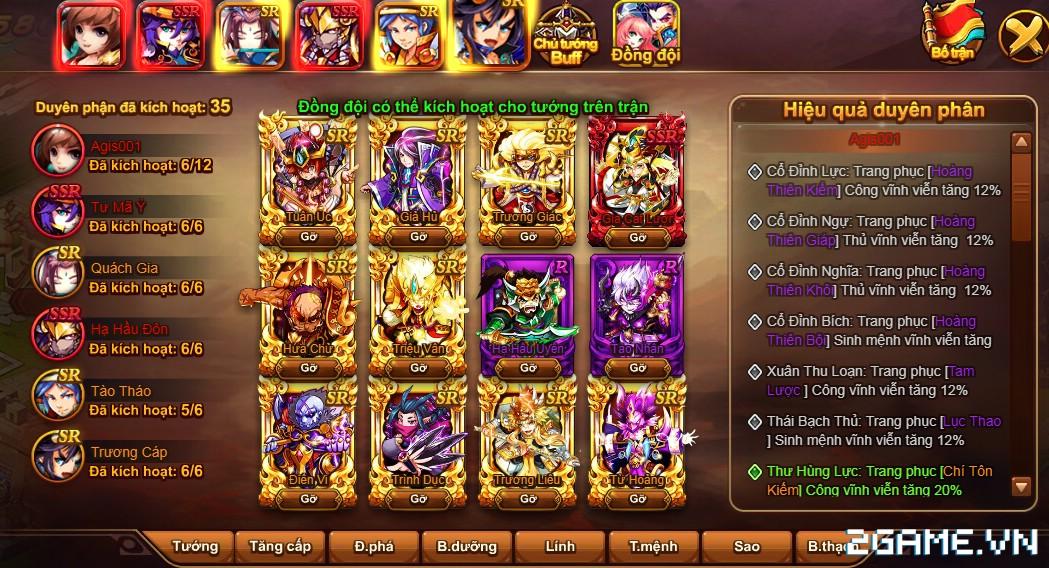Cận cảnh game mobile Tam Quốc Quần Hùng trong ngày đầu ra mắt 7
