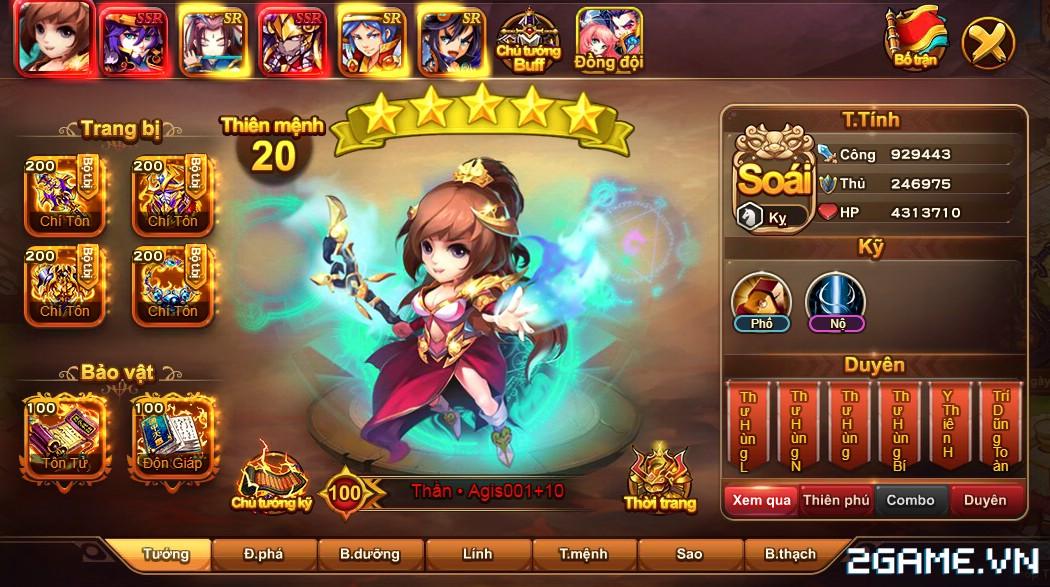 Cận cảnh game mobile Tam Quốc Quần Hùng trong ngày đầu ra mắt 8