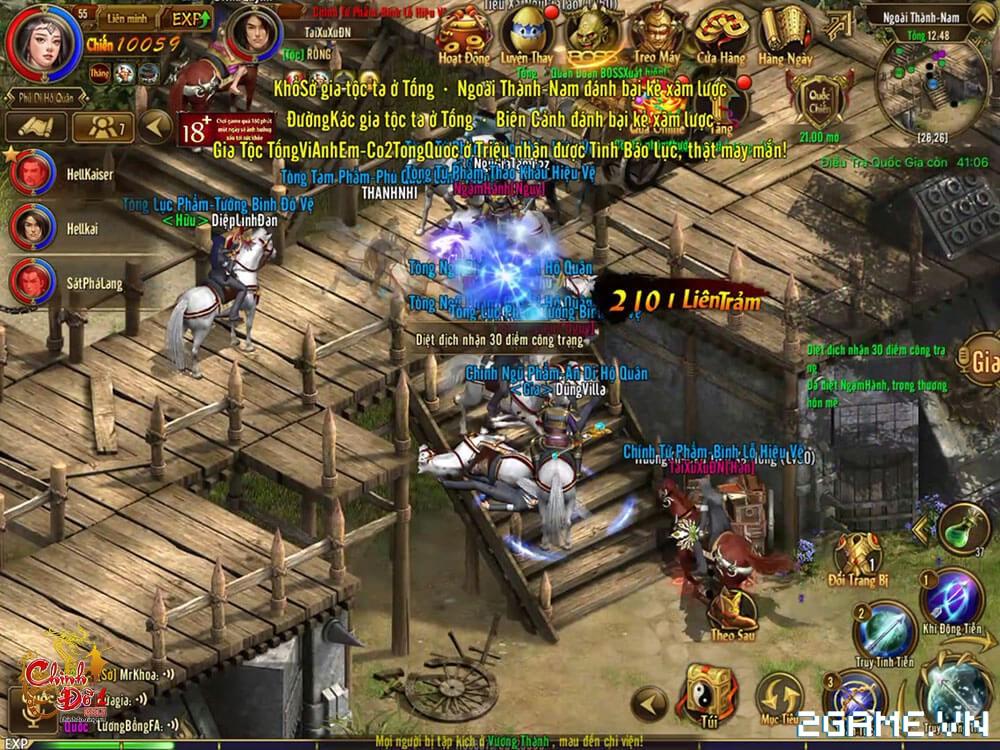 Chinh Đồ 1 Mobile - Phiên bản Tower Defence của game 4