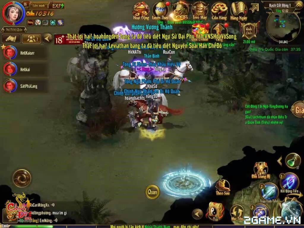 Chinh Đồ 1 Mobile - Phiên bản Tower Defence của game 6