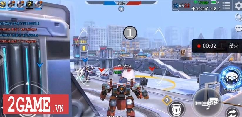 League of Mecha – MOBA bắn nhau cực đã bằng Robot 9